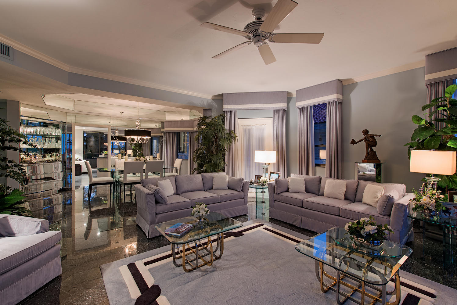 Rarely Available Pent House-large-003-Living  Dining Rooms-1499x1000-72dpi